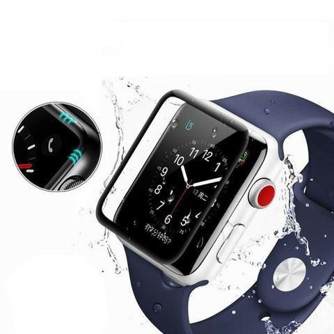 Película 5D Nano Gel Para Apple Watch 40mm Tela Inteira - Foto 6