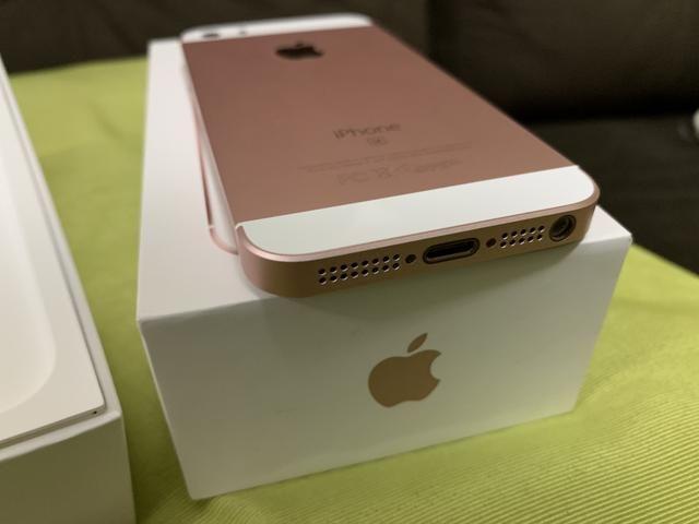 IPhone SE 128GB zero na caixa com nota fiscal - Foto 3
