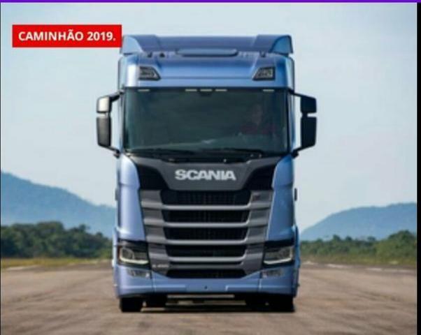 Caminhão scania 2019