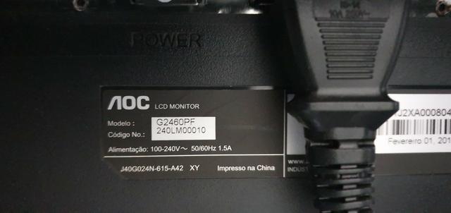 Monitor 144hz AOC - Foto 2