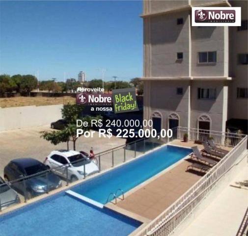 Apartamento com 3 dormitórios à venda, 71 m² por r$ 225.000,00 - plano diretor sul - palma