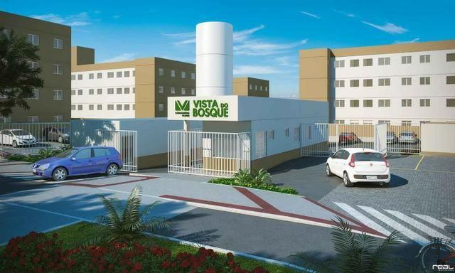 UED-86 - Apartamento 2 quartos próximo ao centro da serra - Foto 2