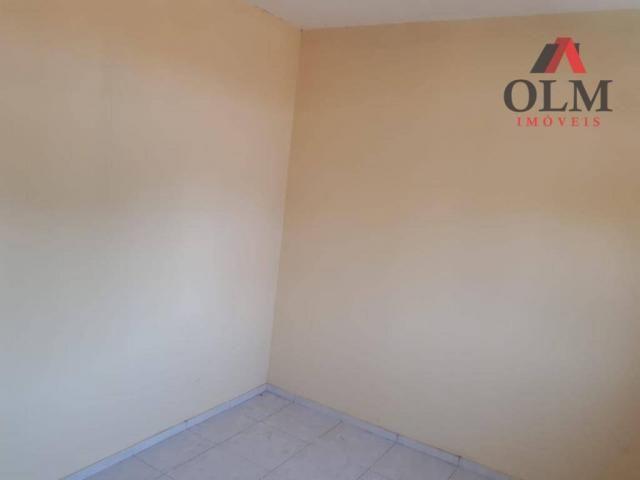 Apartamento com 1 dormitório para alugar, 28 m² por R$ 500/mês - Benfica - Fortaleza/CE - Foto 6