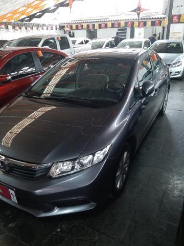Honda civic lxs 16v/// entrada 15mil + parcelas fixas 950.00 - Foto 2