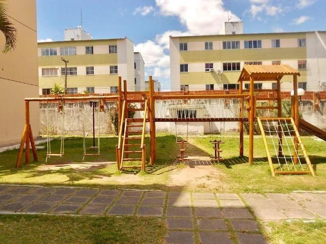 Apartamento Térreo nas Cajazeiras próximo a BR116, 69m, 3 quartos - Foto 2