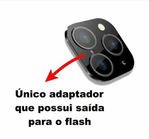 Pelicula adesiva que transforma iphone x em 11 - Foto 2