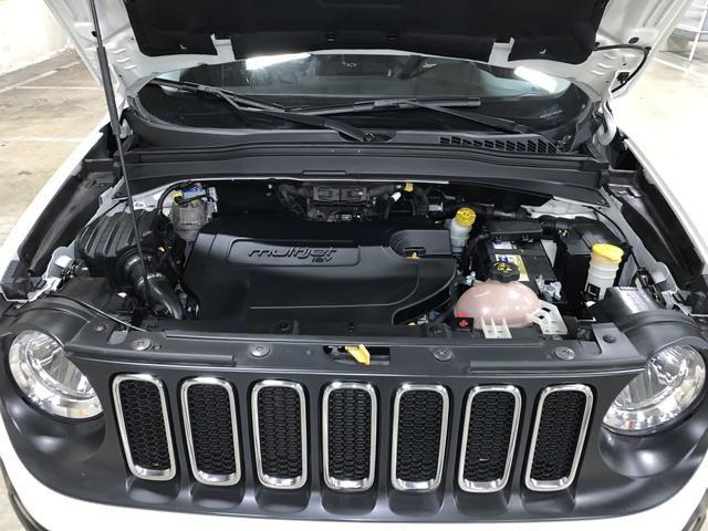 Jeep renegade sport diesel 2016 4x4 c/ bancos em couro extra!!! - Foto 9