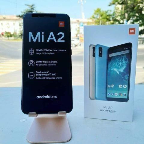 Oferta Xiaomi Mi A2 64Gb Ds Preto e Rosa Lacrado, Pronta Entrega