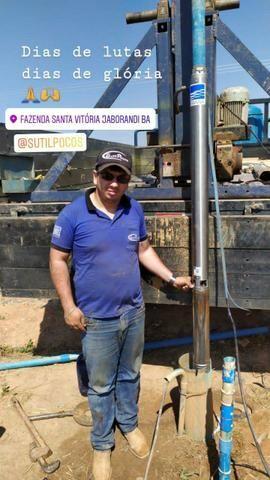 Sutilpoços poços artesianos e vendas de bombas submersas ebarra e assistência técnica - Foto 4
