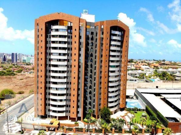 Apartamento com 3 dormitórios à venda, 128 m² por r$ 480.000 - de lourdes - fortaleza/ce
