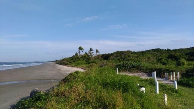 Terreno Frente pro mar em Itapoá para construir,menor preço na beira mar de toda Itapoá - Foto 4