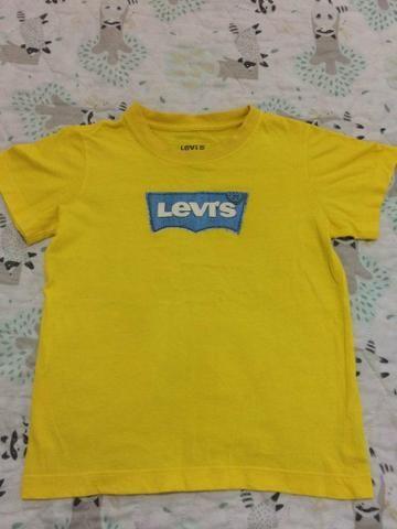Camiseta amarela Original da Levi's