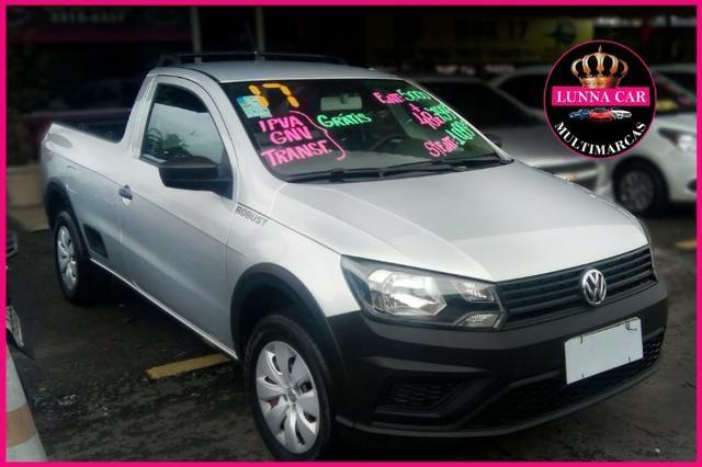 Volkswagen Saveiro 1.6 c/ Entrada mais 48x de R$799,00 + GNV