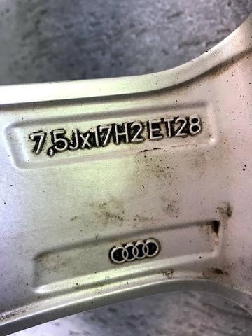 Rodas Originais Audi A5 Aro 17 5x112 + Pneus Bridgestone Novos - Foto 8