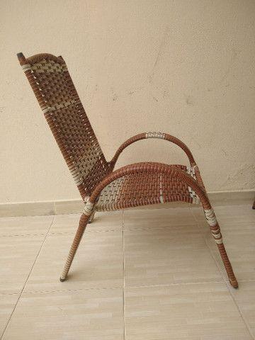 Cadeira pe fixo, para varanda - Foto 2