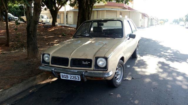 Chevette 78 faltando pouco para ser restaurado - Foto 4