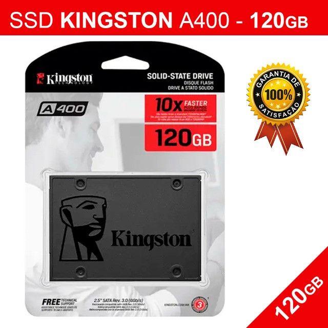 Hd Ssd Kingston A400 - 120gb - Novo Pronta Entrega - Foto 2