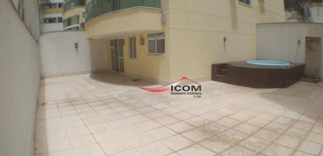 Apartamento Duplex com 4 dormitórios para alugar, 180 m² por R$ 9.700,00/mês - Botafogo -