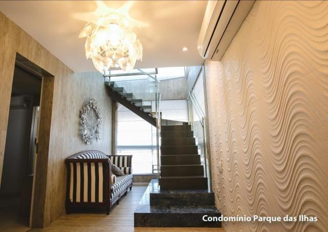 Vendo linda cobertura duplex no parque das ilhas(Porto das Dunas) 164m, toda projetada, po - Foto 10