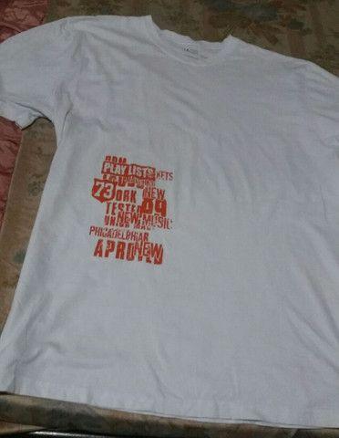 Camisa masculina Taco tamanho GG NOVA - Foto 3