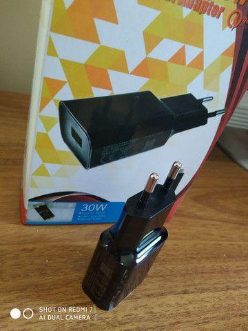 Carregador de celular turbo cabo type c tipo c xiaomi 3.1 A original - Foto 4