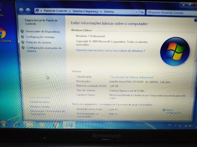 Notebook/netbook - Lenovo Ideapad S10-2 - Atom - 2gb - Foto 2