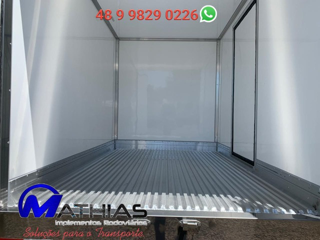 Bau frigorifico 2.80m kia bongo e hr novos instalado Mathias Implementos - Foto 6