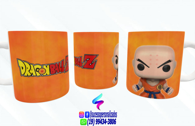 Canecas Colecionáveis Funko Pop Dragon Ball Z! - Foto 6