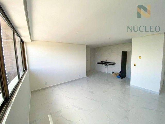 Apartamento com 2 dormitórios à venda, 59 m² por R$ 360.000 - Cabo Branco - João Pessoa/PB - Foto 2