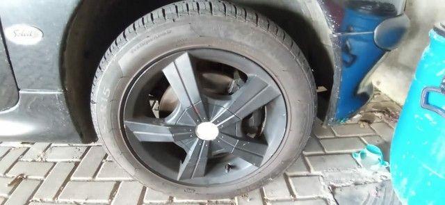 Rodas de liga Aro 15 com 2 pneus Remold NOVOS e dois meia boca - Foto 3