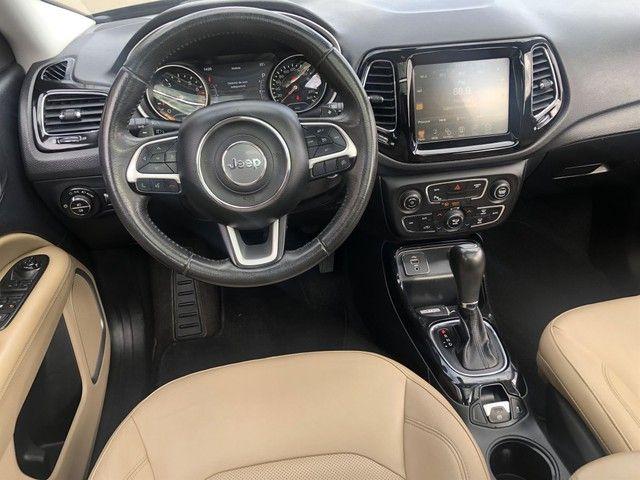 Jeep Compass Limited 2.0 Flex 2017 com 76.000km - Foto 10