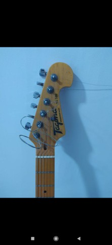 Guitarra Stratocaster Tagima Woodstock Olympic White  - Foto 4