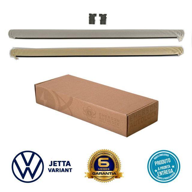 Cortina toldo persiana do teto solar VW Jetta Variant instalada - Foto 3