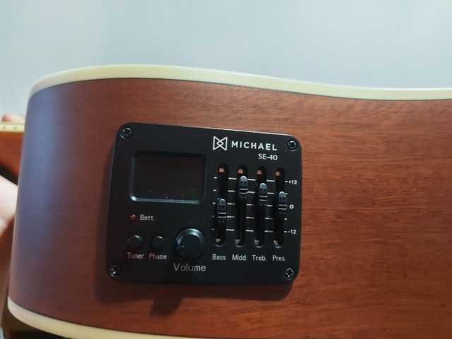 Violão Michael VM925DT+Soft Case - Foto 3