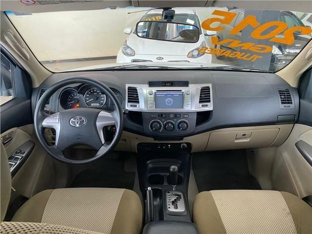 Toyota Hilux Sw4 2.7 Sr 4x2 Flex + Gnv Automático 2015!!! - Foto 8