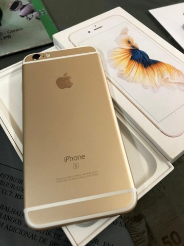 Apple iPhone 6s 16GB Gold - Foto 6