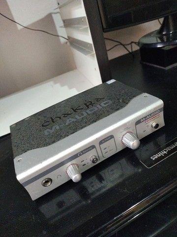 Interface de áudio M-Audio Audiophile Firewire