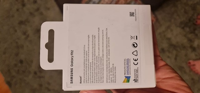 Relógio novo Samsung Galaxy Fit2 - Na caixa - Foto 3