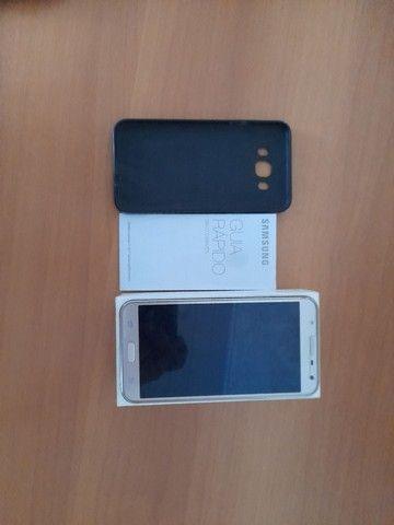 Samsung galaxy j7 top sem trincado.