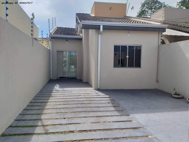 Casa para Venda em Várzea Grande, Ikaray, 3 dormitórios, 1 suíte, 2 banheiros, 2 vagas - Foto 3