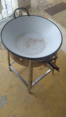 Tacho completo grande para fritura de batata frita e pastel!!! R$ 200 Tem conversa - Foto 5