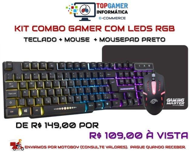 Headset Gamer Teclado Gamer Mouse Gamer Os melhores preços da região. Confira!