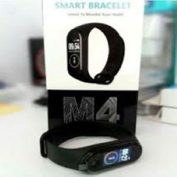 M4 Smartwatch Fitness exercicios +1 Pulseira Reserva - Pronta entrega