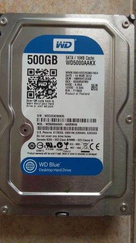 HD de 500gb de desktop  - Foto 2