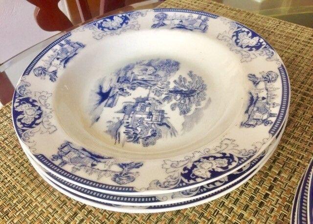 Conjunto porcelanas loucas para chá , jantar - Foto 5