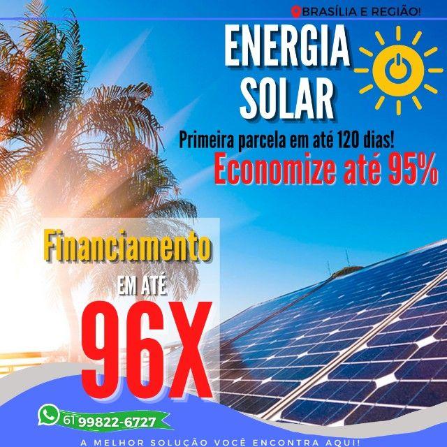 Energia solar - Promoção do mês