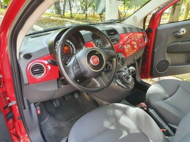 Fiat 500 Cult Completo Bem Novinho! - Foto 8