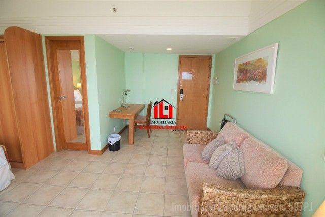Flat Mobiliado com Vista p Rio no Tropical Hotel 6 Andar - Foto 4