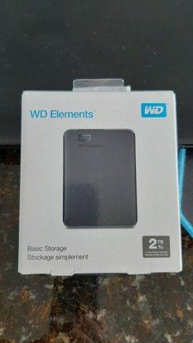 HD Externo 2TB Lacrado! Novo!