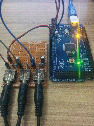 Criação de projetos eletrônicos e de automação microcontrolados